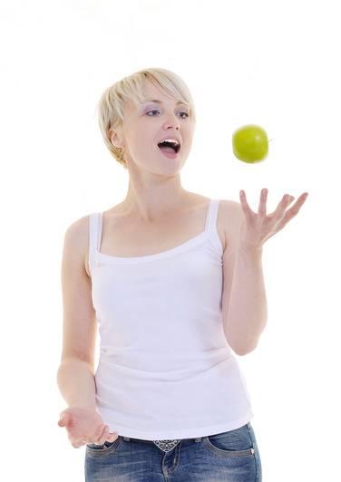 A maçã ajuda a perder peso