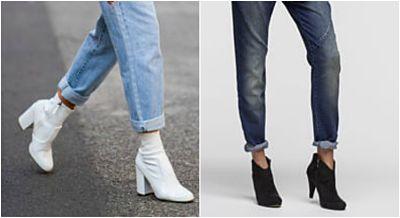 Como usar botins com calças boyfriends