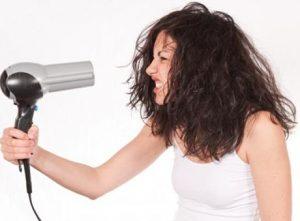 Como usar corretamente o secador de cabelo
