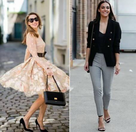 Como combinar sapatos com cada look