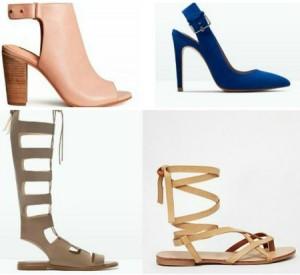 Tendências Sapatos Primavera/Verão 2015