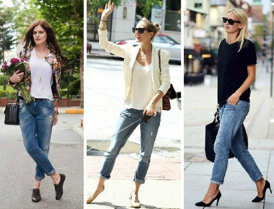 Como Usar os Boyfriend Jeans