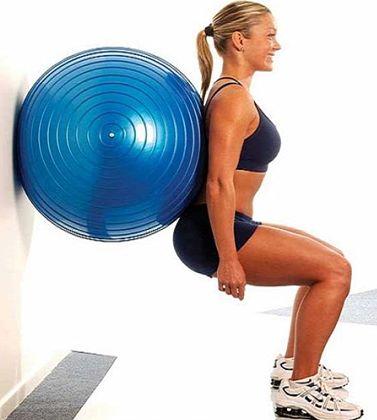 Exercícios em Casa com a Fitball